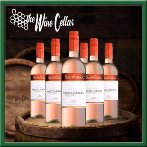 Italian Pinot Grigio Rose (6 bottles)