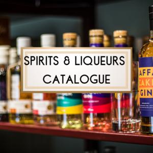 Spirits & Liqueurs Catalogue